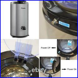 0.6 Cu. Ft. 120-Volt Gray Electric Stainless Steel Portable Spin Dryer, 3200 Rp