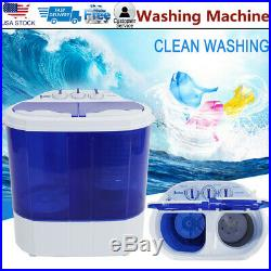 10.4 Lbs Compact lightweight Portable Washing Machine Washer with Spin Cycle Dryer