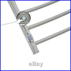 10 Bar Tower Warmer Wall Mounted Hardwired Dryer Stainless Steel