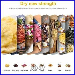 10 Layers Food Dehydrator Fruit Dryer Vegetable Jerky Stainless Steel Best Gift