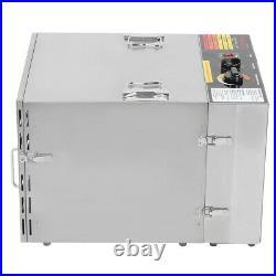 10 Tray 1000W Stainless Steel Food Dehydrator Vegetable Jerky Fruits Meat Dryer