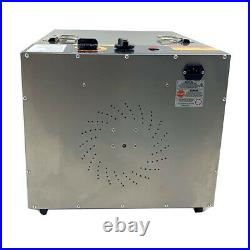 10 Tray Commercial Food Dehydrator Fruit Jerky Dryer Blower Stainless Steel US