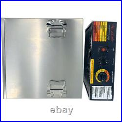 10 Tray Electric Food Dehydrator Machine Home Dryer Fruit Vegetable Jerky Drying