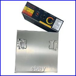 10 Tray Food Dehydrator Fruit Jerky Dryer Blower Commercial Stainless Steel US