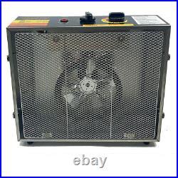10 Tray Food Dehydrator Stainless Steel Meat Jerky Fruit Dryer Machine 60L 1000W