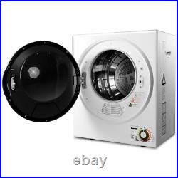 10 lbs Wall Mounted Stainless Steel Compact Powerful Electric Clothes Dryer Home