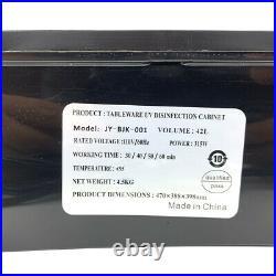 110V 60Hz Desktop Disinfection Cabinet Dish Dryer Cabinet Home UV Sterilizer