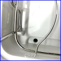 110V Countertop Dish Dryer UV Sterilizer Disinfection Cabinet Home Kitchen 42L