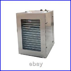 16 Tray Digital Electric Food Dehydrator Stainless Fruit Dryer Vegetable Jerky