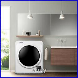 1700W Electric Tumble Laundry Dryer For Small Apartments13.2 lbs /3.22 Cu. Ft