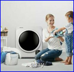 1700W Electric Tumble Laundry Dryer Stainless Steel Tub 13.2 lbs /3.22 Cu. Ft