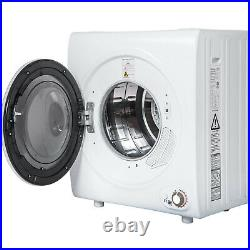 2.65 Cu. Ft Electric Compact Laundry Dryer 9LBS Capacity Portable Clothes Dryer