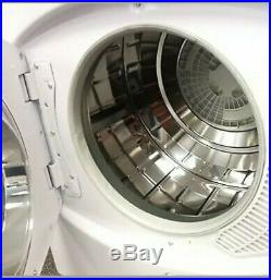 3.75 cu. Ft Portable Compact Electric Laundry Clothes Dryer White Tumble Machine