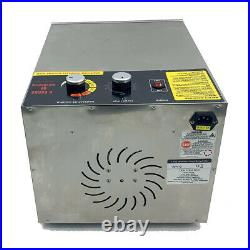 5/10/16-Tray Food Dehydrator Machine Vegetable Jerky Fruit Drying Home Dryer US