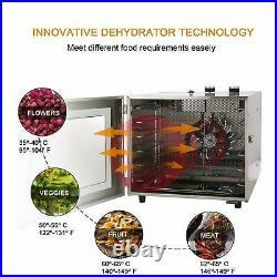 5/6/7/8 Tray Electric Food Dehydrator Beef Jerky Snack Machine Fruit Dryer Maker