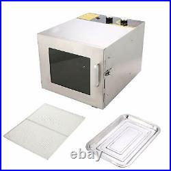 5/6/7/8 Tray Electric Food Dehydrator Machine Fruit Dryer Beef Meat Commercial
