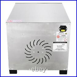 8 Tray Electric Food Dehydrator Machine Tier Fruit Beef Maker Dryer 600W