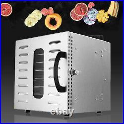 8 Tray Food Dehydrator Preserver Beef Fruit Dryer Meat Jerky Herbs Machine NEW