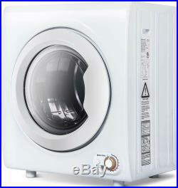 9 LBS Laundry Dryer Electric Tumble Stainless Steel Drying Machine Portable