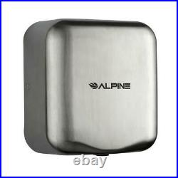 Alpine Stainless Steel Brushed High Speed Commercial 120V Automatic Hand Dryer