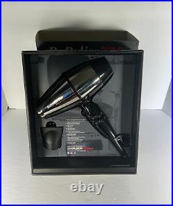 BaBylissPRO BABSS8000 STEELFX 2000 Watt Stainless Steel Hair Dryer