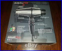 BabylissPro BABSS8000 STEELFX Stainless Steel Ferrari Engine 2000w Hair Dryer