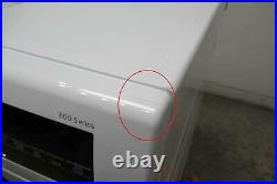 Bosch 800 Series Washer / Dryer White Chrome Set WAT28402UC / WTG86402UC