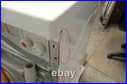 Bosch 800 Series White Chrome Washer + Dryer Set WAT28402UC / WTG86402UC