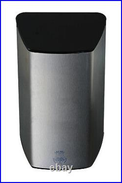 Brushed stainless steel high speed hand dryer