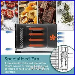 COSORI Food Dehydrator Machine Stainless Steel Digital Food Dryer with Recipe