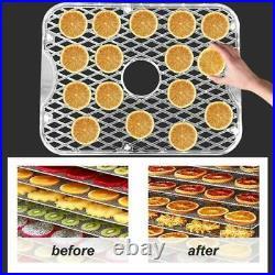 Commercial Food Dehydrator 6 Tray Stainless Steel Fruit Meat Jerky Dryer