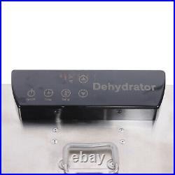 Commercial Food Dehydrator 8-Tier Stainless Steel Fruit Jerky Meat Dryer Blower