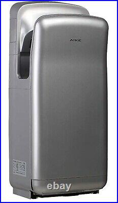 Commercial High Speed Jet Hand Dryer with HEPA Filter 1 Stainless Steel