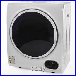 Compact Digital Automatic Electric Clothes Dryer Machine Laundry Dry with Timer
