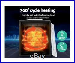 Devanti 9 Tray Food Dehydrators Commercial Beef Jerky Maker Fruit Dryer Black
