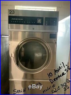 Dexter Dryer 30lb, Stainless Steel