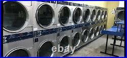 Dexter Stainless Steel Laundromat Double Dryers