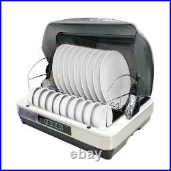 Dish Disinfection Cabinet Desktop UV Sterilizer Kitchen Dish Dryer Cabinet 42L