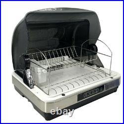 Dish Dryer Cabinet UV Sterilizer Kitchen Disinfection Cupboard Sterilization US