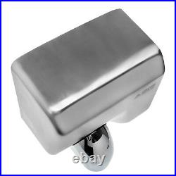 Electric Hand Dryer 360° Rotating Nozzle Hand Dryer Fast Automatic Chrome