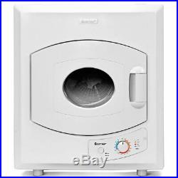 Electric Tumble Compact Laundry Dryer Stainless Steel Wall Mounted