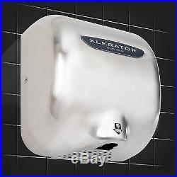 Excel Dryer XLERATOR XL-SB8 High Speed Hand Dryer Stainless Steel 208-277 Volt