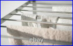 Fixed Stainless Steel Drying Rack, Hanging Garment Dryer, 5 Days Express Ship