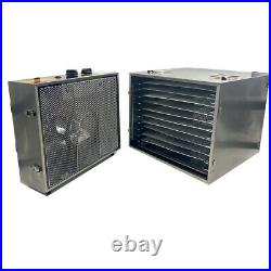 Food Dehydrator Machine Jerky Meat Beef Fruit Dryer 10 Stainless Steel Trays