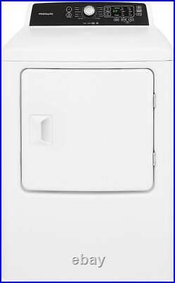 Frigidaire FFTW4120SW, FFRE4120SW Side-by-Side Washer & Dryer Set In White