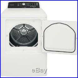 Frigidaire FFTW4120SWithFFRE4120SW 27 White Electric Dryer Washer Laundry Set NIB