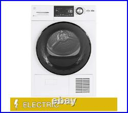 GE 4.1 cu. Ft. ELECTRIC Dryer with Ventless Condenser and Stainless Steel Drum