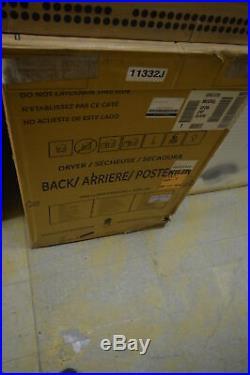 GE GFDN240ELWW 27 White Front-Load Electric Dryer NIB #9587 CLW