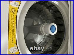 GE Unitized Spacemaker washer and gas dryer stainless steel (Great Condition)