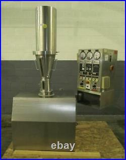 Glatt GPCG-1 Stainless Steel Constructed Fluid Bed Dryer Granulator 220V